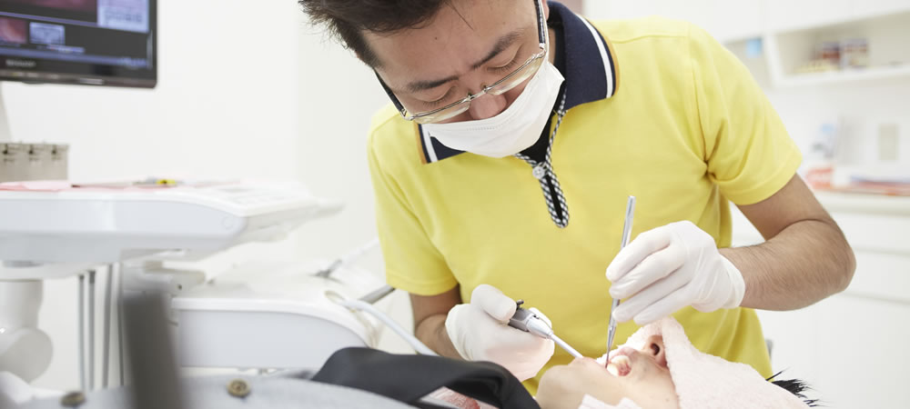 抜かない・削らない歯医者