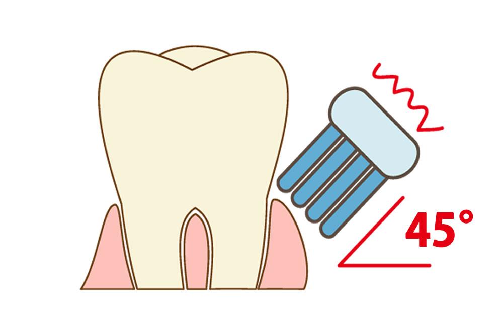 歯磨きを行う際の注意点